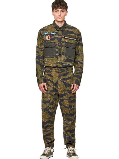 Diesel - P-BARTON, Military Green - Pants - Image 6