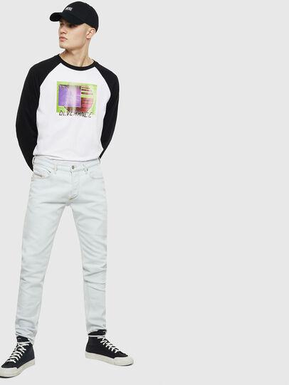 Diesel - T-RODDI, White/Black - T-Shirts - Image 5