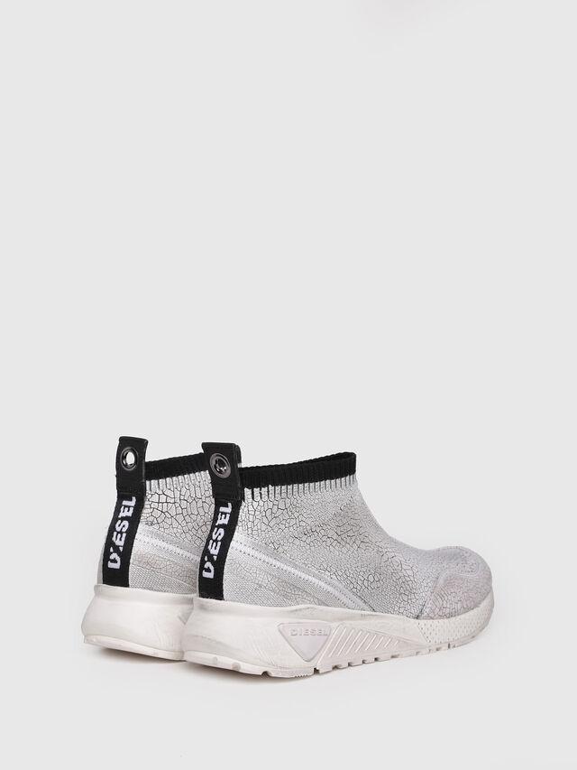 Diesel - S-KB ANKLE SOCK, Silver - Sneakers - Image 3