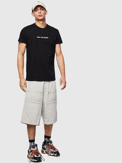Diesel - T-DIEGO-T16, Black - T-Shirts - Image 4