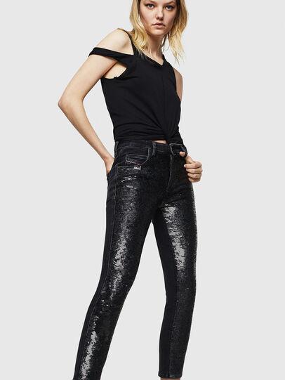 Diesel - Babhila 0093G, Black/Dark grey - Jeans - Image 6
