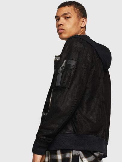 Diesel - L-NIKOLAI,  - Leather jackets - Image 3
