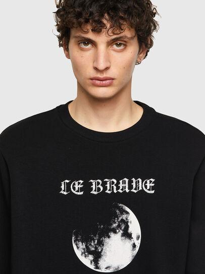 Diesel - S-GIRK-B4, Black - Sweaters - Image 3