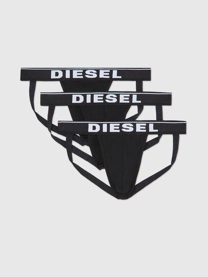Diesel - UMBR-JOCKYTHREEPACK, Black - Jockstraps - Image 1