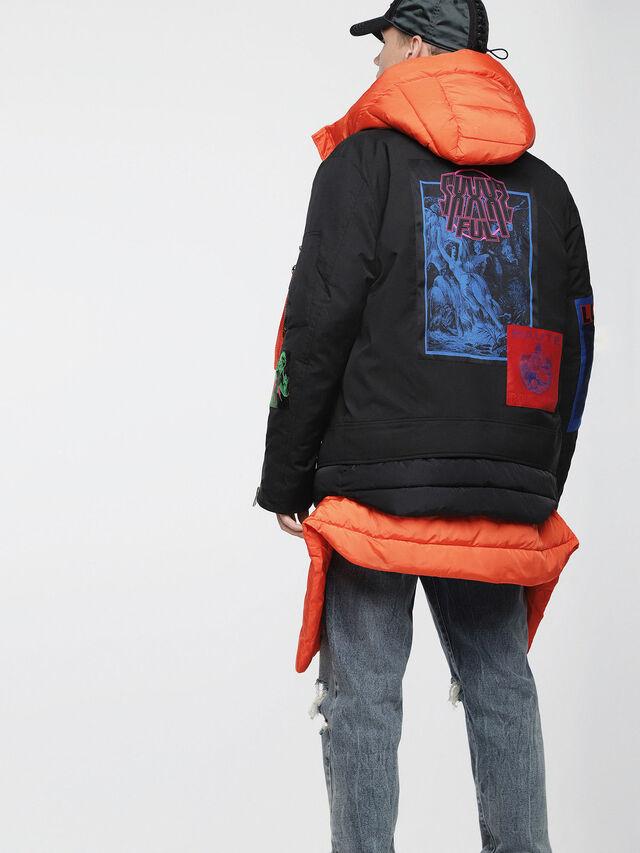 Diesel - J-YONG, Black - Jackets - Image 2