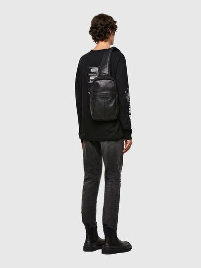 Diesel - F-SUSE MONO MR, Black - Crossbody Bags - Image 6