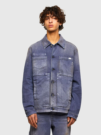Diesel - D-ANTONY-SP, Medium blue - Denim Jackets - Image 1