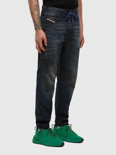 Diesel - D-Skint JoggJeans 069PE, Dark Blue - Jeans - Image 6