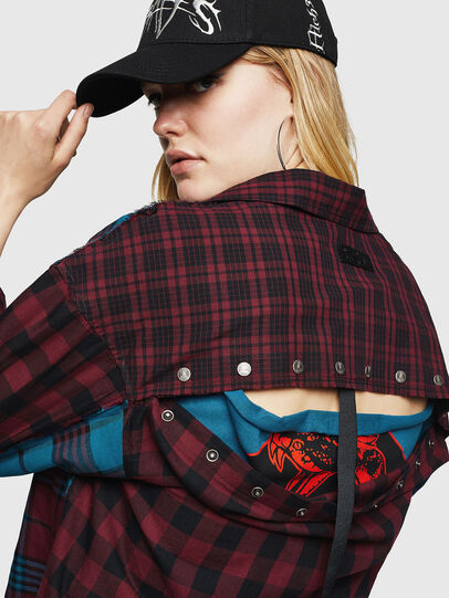 Diesel - C-OKSANA, Red/Blue - Shirts - Image 5