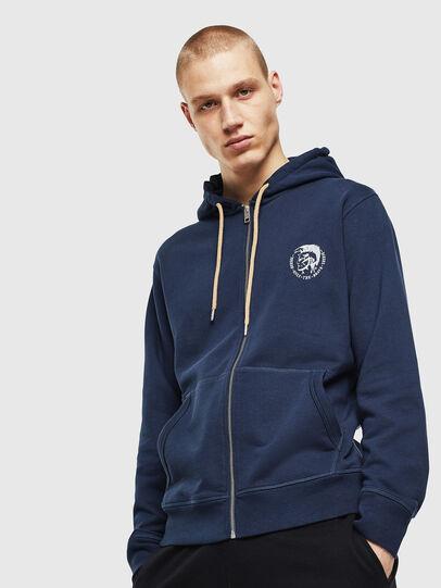 Diesel - UMLT-BRANDON-Z, Blue Marine - Sweaters - Image 1
