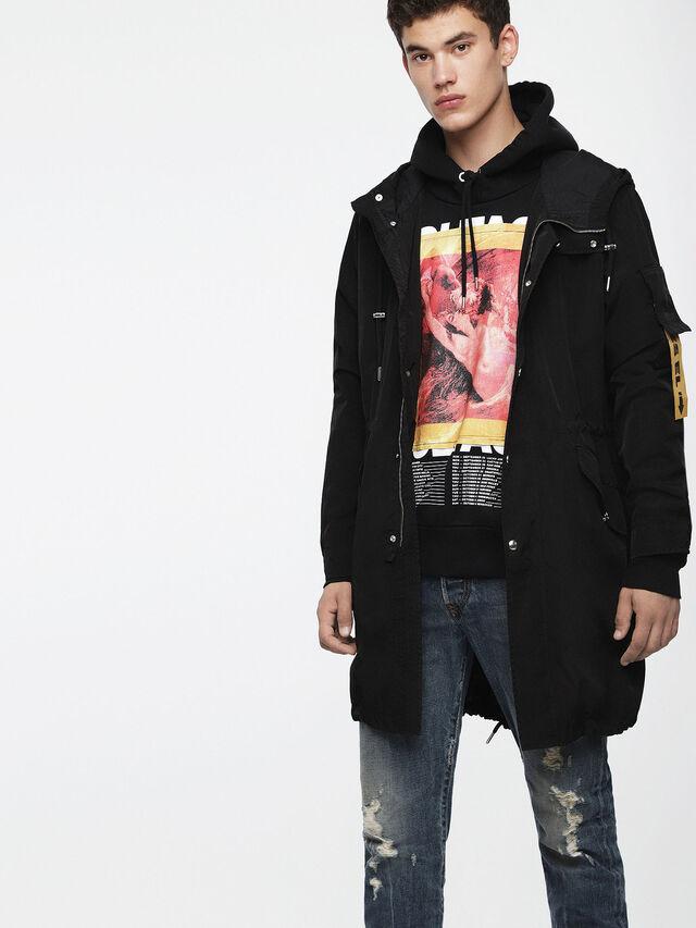 Diesel - J-CHIEF, Black - Jackets - Image 1