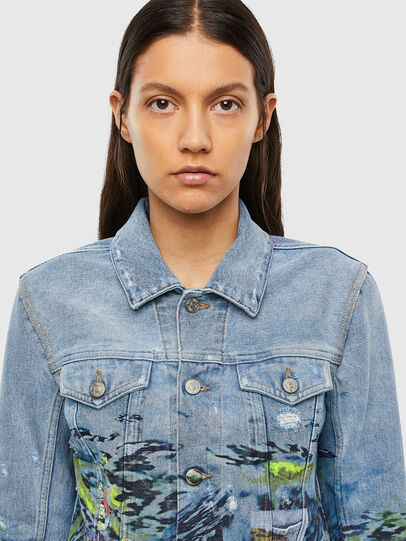 Diesel - DE-LIMMY-SX, Light Blue - Denim Jackets - Image 4