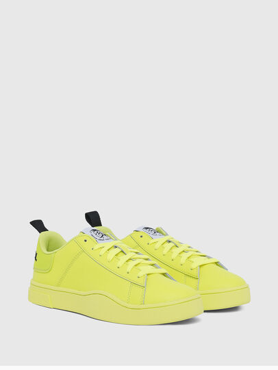 Diesel - S-CLEVER LOW LACE W, Yellow Fluo - Sneakers - Image 2