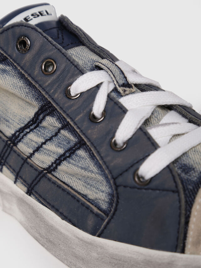 Diesel - D-VELOWS LOW LACE, Blue - Sneakers - Image 4