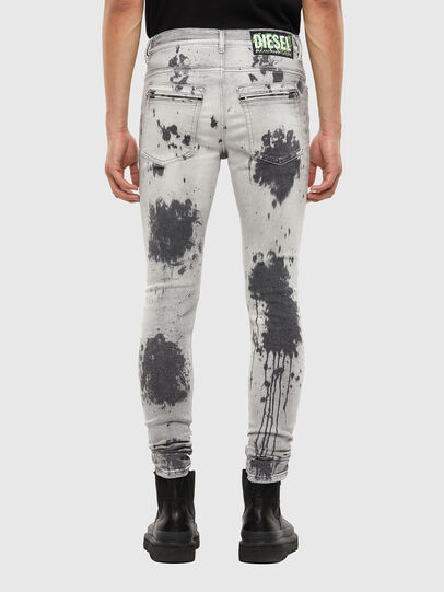 Diesel - D-Amny 009GM, Light Grey - Jeans - Image 2