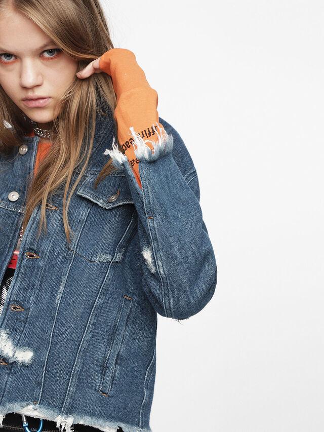 Diesel - DE-PENNY, Blue Jeans - Denim Jackets - Image 3