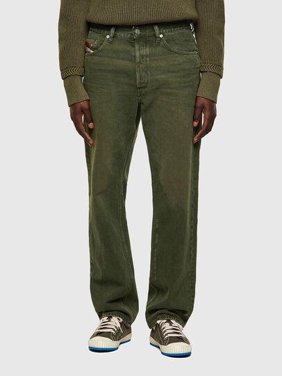 Diesel - D-Macs 09A35, Green - Jeans - Image 1