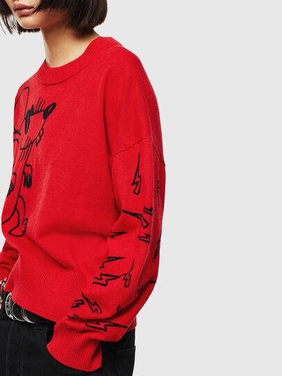 Diesel - CL-M-TESS, Red - Knitwear - Image 5