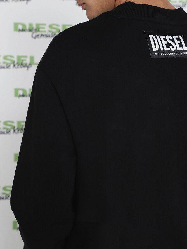 Diesel - MU-FESTA, Black - Sweaters - Image 5