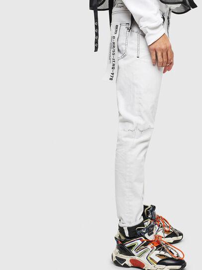 Diesel - D-Strukt 003Z1, White - Jeans - Image 5