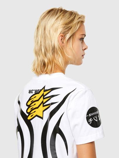 Diesel - ASTARS-T-DIEGOS-A-FL, White - T-Shirts - Image 4