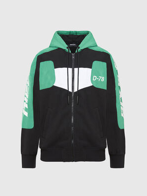 S-JAKLER, Black/Green - Sweaters