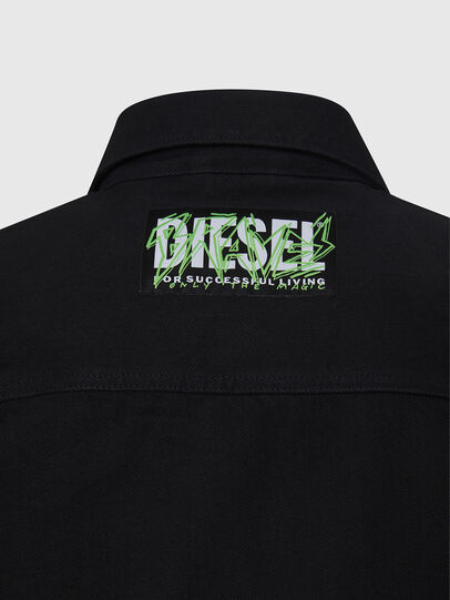 Diesel - NHILL-C, Black - Denim Jackets - Image 6