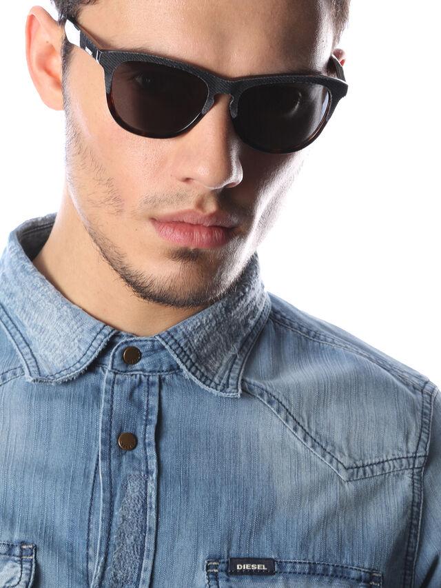 Diesel DM0192, Dark Blue - Eyewear - Image 6