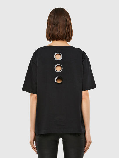 Diesel - T-SBUSETTE, Black - T-Shirts - Image 2