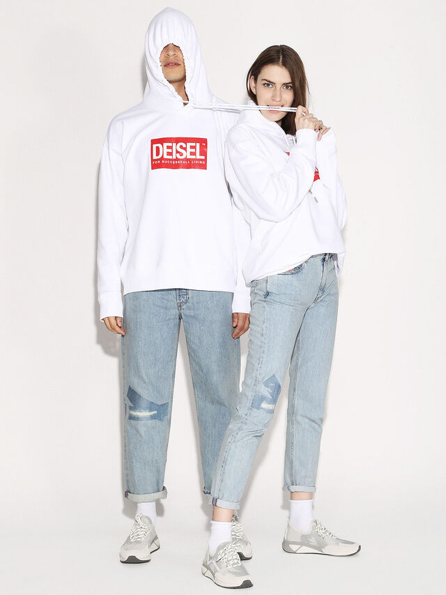 Diesel - DEIS-SHOOD, White - Sweaters - Image 4