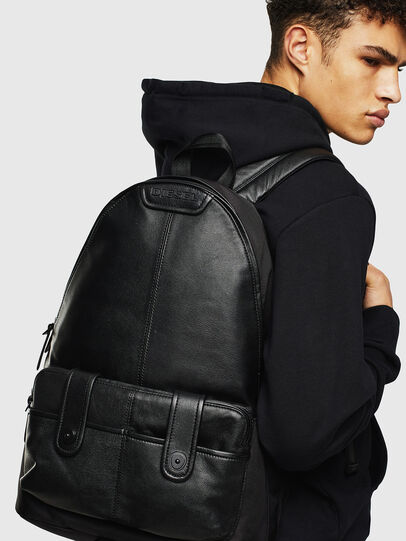Diesel - MONTEKKIO, Black - Backpacks - Image 8