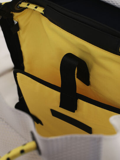 Diesel - F-SUSE BACKPCK, White/Yellow - Backpacks - Image 4