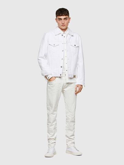 Diesel - D-Kras 0HBAJ, White - Jeans - Image 6