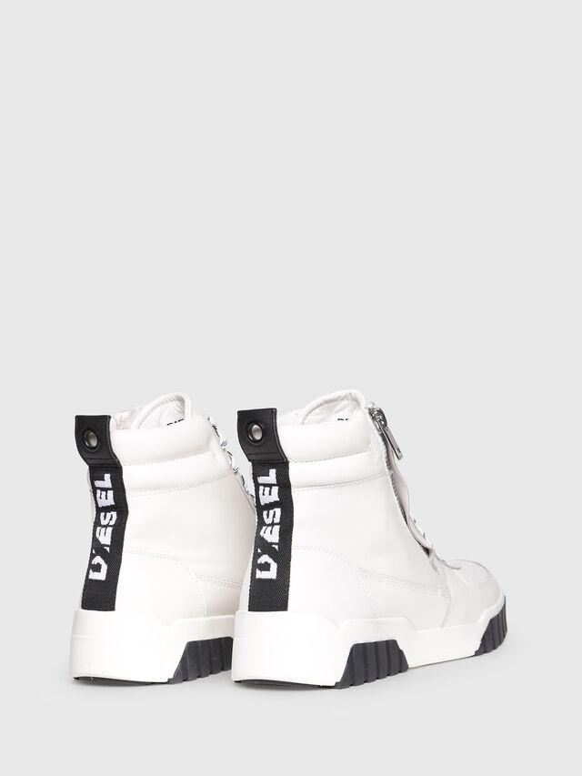 Diesel - S-RUA MC, White - Sneakers - Image 3