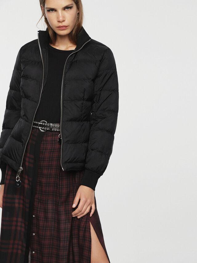 Diesel - W-BLANKYT, Black - Winter Jackets - Image 2