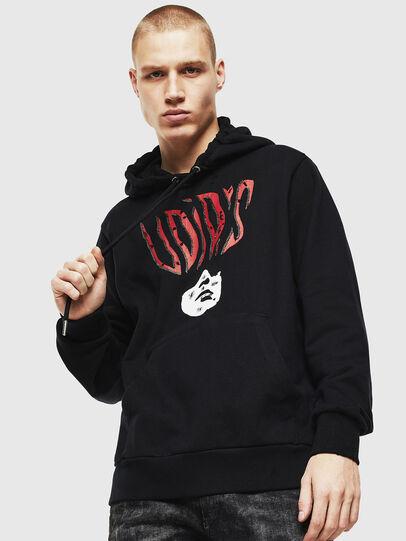 Diesel - S-GIRK-HOOD-J2, Black - Sweaters - Image 1