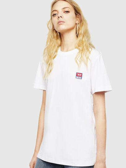 Diesel - T-DIEGO-DIV, White - T-Shirts - Image 2