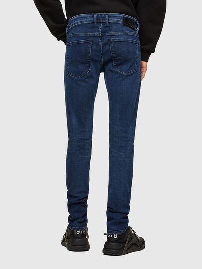 Diesel - Sleenker 009QI, Dark Blue - Jeans - Image 2