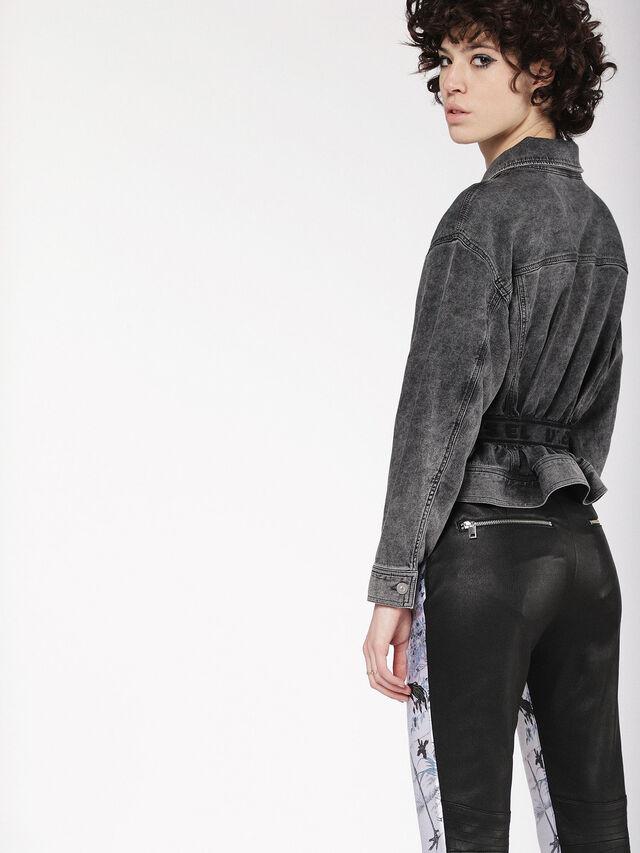 Diesel - KARLY JOGGJEANS, Black/Dark grey - Denim Jackets - Image 2