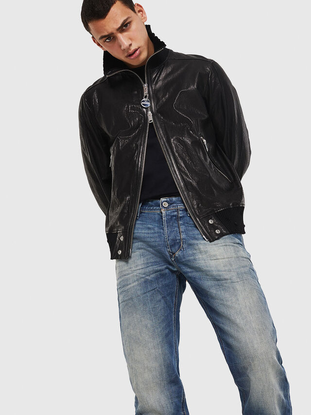 Diesel - Larkee-Beex 089AR, Dark Blue - Jeans - Image 4