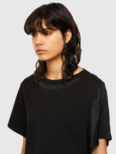 Diesel - D-OUBLE, Black - Dresses - Image 3