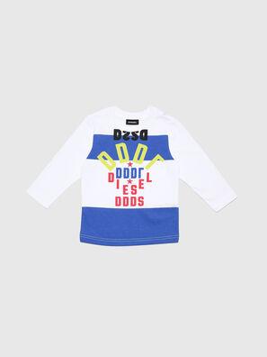 TOLIB-R, White/Blue - T-shirts and Tops