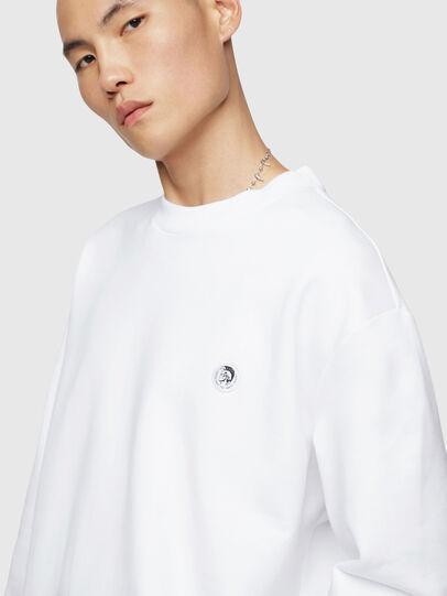 Diesel - S-LINK, White - Sweaters - Image 5