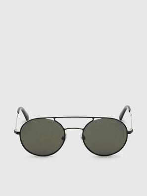 DL0301, Black/Gold - Sunglasses