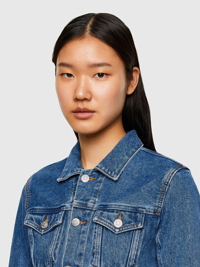 Diesel - DE-LIMMY, Medium blue - Denim Jackets - Image 3
