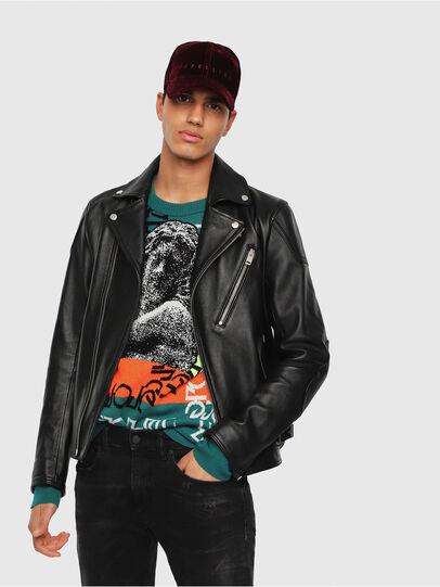Diesel - L-KRAMPIS,  - Leather jackets - Image 1