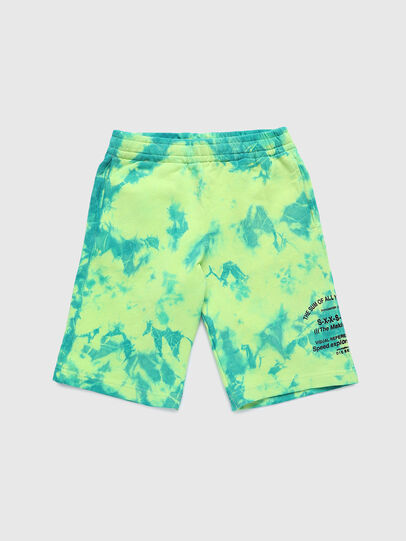 Diesel - PROLLY, Green Fluo - Shorts - Image 1