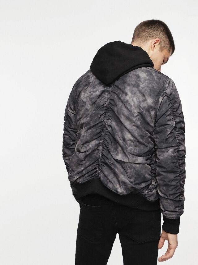 Diesel - W-NOVELS, Black Melange - Jackets - Image 2
