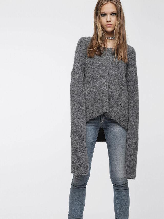 Diesel - M-ALPY, Grey - Knitwear - Image 1