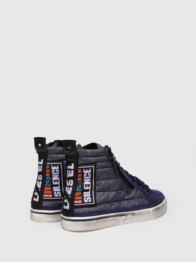 Diesel - D-VELOWS MID PATCH, Dark Blue - Sneakers - Image 2
